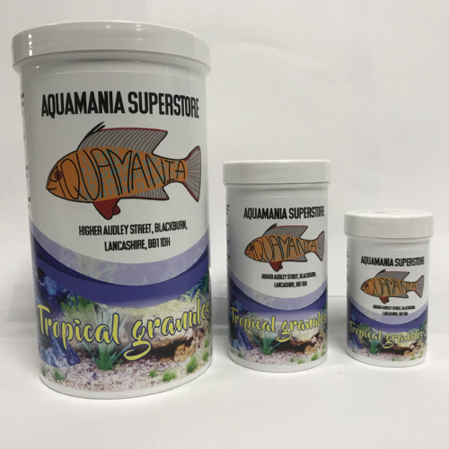 Aquamania Tropical Granules S